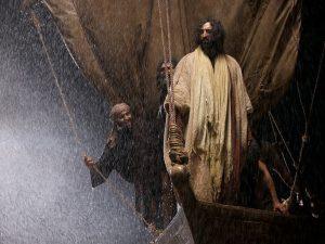 Jesus in the boat