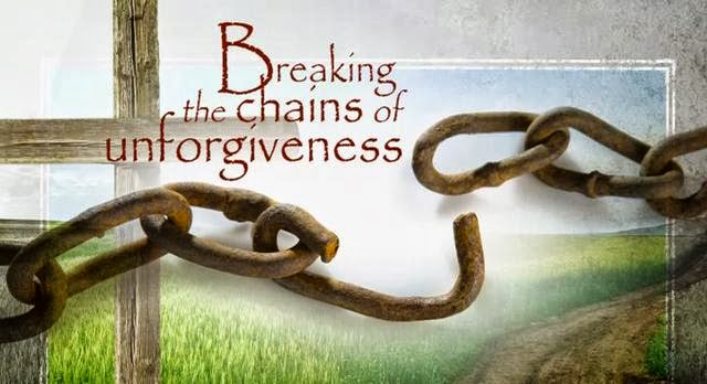 breaking chains of unforgivness